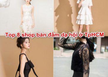 Top 8 shop bán đầm Dạ Hội đẹp & giá rẻ ở Tphcm