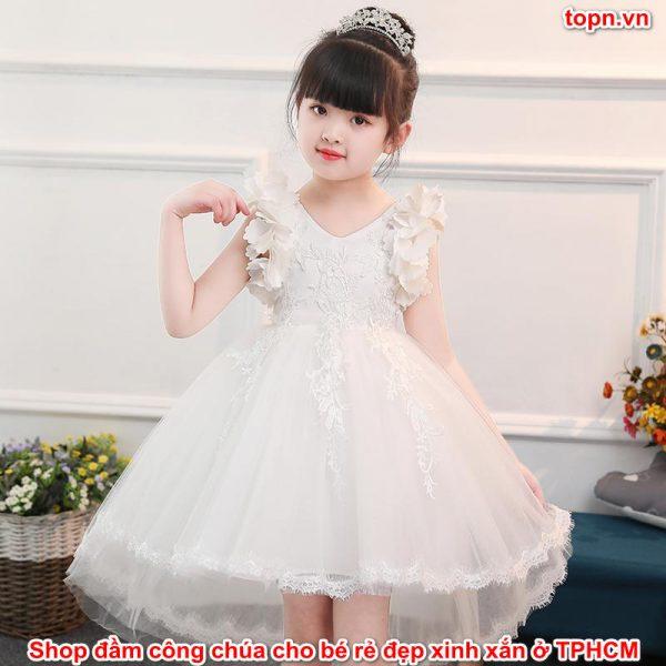 shop đầm công chúa cho bé rẻ đẹp xinh xắn ở TPHCM