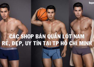 Top 7 shop bán quần lót nam Rẻ Đẹp Uy Tín ở TPHCM