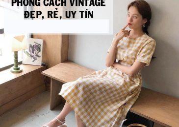 Top 9 shop bán quần áo phong cách Vintage Đẹp Giá Rẻ Uy Tín