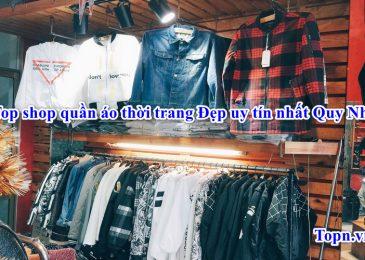 Top 11 shop quần áo thời trang Đẹp uy tín nhất Quy Nhơn