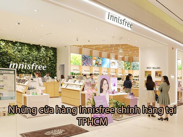 Top 5 cửa hàng Innisfree chính hãng tại TPHCM