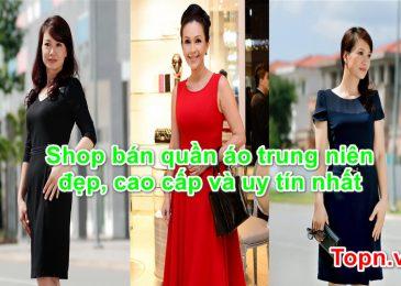 Top 8 shop bán quần áo trung niên cao cấp Đẹp Uy Tín Nhất