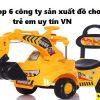 Danh sách những công ty sản xuất đồ chơi trẻ em ở Việt nam uy tín nhất