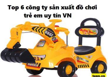 Top 6 công ty sản xuất đồ chơi trẻ em uy tín nhất Việt nam