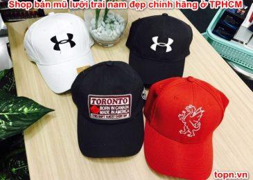 Top 6 shop bán mũ lưỡi trai nam đẹp chính hãng ở TPHCM