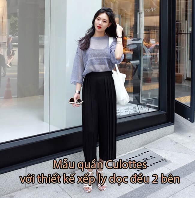 Top 12 Mẫu quần Culottes Xu Hướng Thịnh Hành Mới Nhất 2019