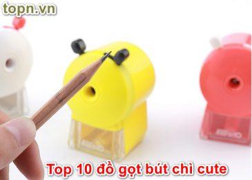 Top 10 đồ gọt bút chì cute dễ thương Thật Khó Cưỡng
