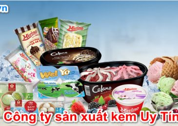 Top 8 công ty nhà máy sản xuất kem Uy Tín Nhất Việt nam