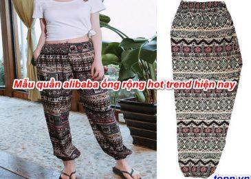 Top 5 mẫu quần alibaba ống rộng Hot Trend hiện nay