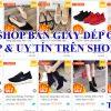 Top 6 shop bán giày dép giá rẻ, đẹp & uy tín trên Shopee