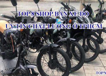Top 8 shop bán xe độ uy tín chất lượng ở TPHCM